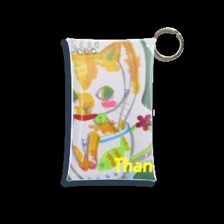 Chieの小部屋のにゃんちゃん Mini Clear Multipurpose Case
