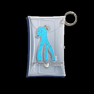 さっちょこのアマヒコ(ブルー) Mini Clear Multipurpose Case