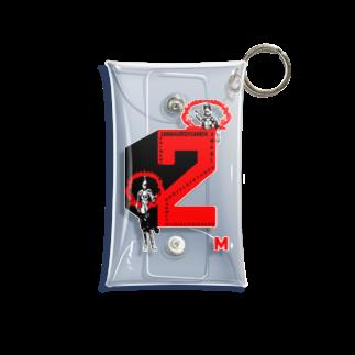 Danke Shoot Coffeeの2M(コンコンコン金剛力士像) Mini Clear Multipurpose Case