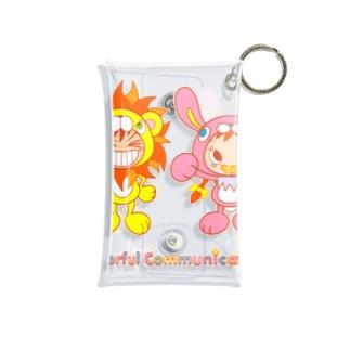ライオンくんとウサギちゃん Mini Clear Multipurpose Case