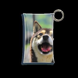 Kippaの柴犬ゆずちゃん Mini Clear Multipurpose Case