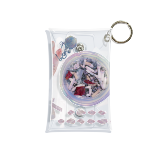 Melts with Dustyのおりぼんちゃんと灰皿とチョコ Mini Clear Multipurpose Case