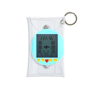 アマビエ育成ゲーム Mini Clear Multipurpose Case