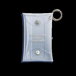 雛.の季語 Mini Clear Multipurpose Case