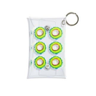ゴーヤーの輪切り Mini Clear Multipurpose Case