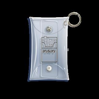 pty&ptyのcigarette Mini Clear Multipurpose Case