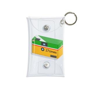 27times 128 Mini Clear Multipurpose Case