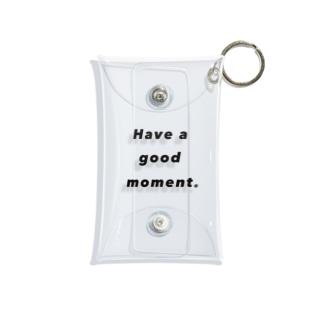 Hava a good moment Mini Clear Multipurpose Case