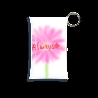 cherie87のいつもお花と一緒に Mini Clear Multipurpose Case