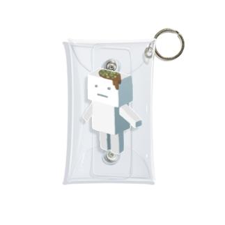 冷奴くん Mini Clear Multipurpose Case