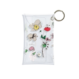 ふらわー Mini Clear Multipurpose Case