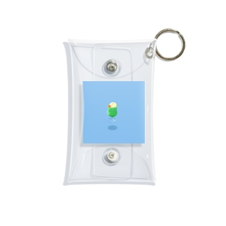 浮遊クリームソーダ B Mini Clear Multipurpose Case