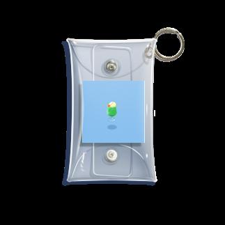 リカの浮遊クリームソーダ B Mini Clear Multipurpose Case