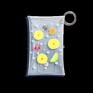 zuuchiのフルーツポンチ Mini Clear Multipurpose Case