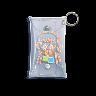maru と yamaの日焼け止め塗らない女の子 Mini Clear Multipurpose Case