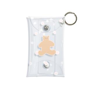 みずたまクマさん Mini Clear Multipurpose Case