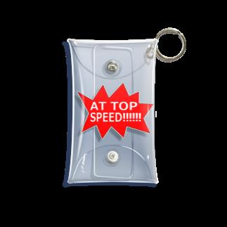ヒラエイのAT TOP SPEED!!!!!!全速力で‼︎‼︎‼︎ Mini Clear Multipurpose Case