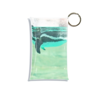 harucamera ペンギン Mini Clear Multipurpose Case