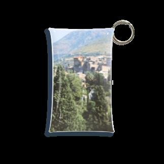 FUCHSGOLDのイタリア:チボリの風景 Italy: view of Tivoli Mini Clear Multipurpose Case