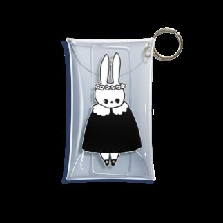 しゃもたの花冠(白) Mini Clear Multipurpose Case