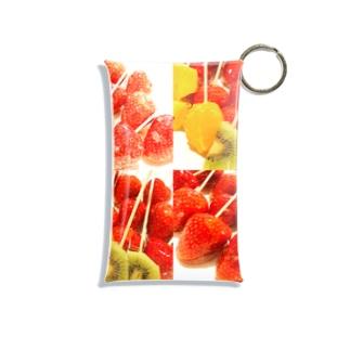 フルーツ飴 Mini Clear Multipurpose Case