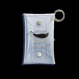 Aliviostaのヤンバルクイナ 沖縄 鳥イラスト Mini Clear Multipurpose Case