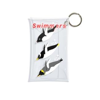 Swimmers red Mini Clear Multipurpose Case