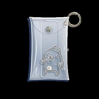 サウナ水風呂好きのぴよ🐤♨️のサウナ上がりのぴよ🐤 Mini Clear Multipurpose Case
