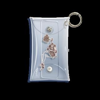 黒メガネのアトリエ(KuromeganesAtlier)の『Girl』 Mini Clear Multipurpose Case