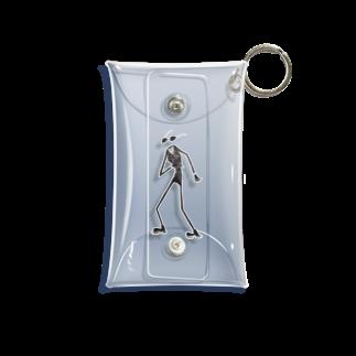 黒メガネのアトリエ(KuromeganesAtlier)の『クロメガネ』 Mini Clear Multipurpose Case
