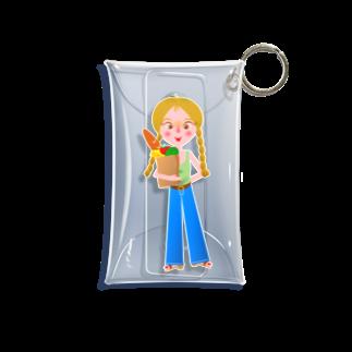 似顔絵 KURI屋のJanette Mini Clear Multipurpose Case