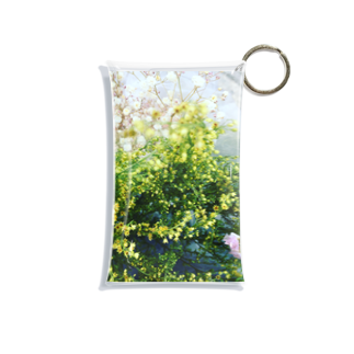 食卓の花達連れて歩く Mini Clear Multipurpose Case