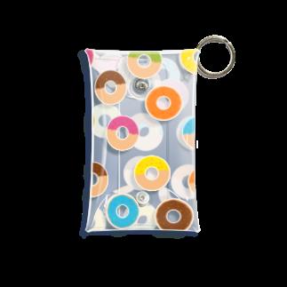 つきしょっぷのドーナツ Mini Clear Multipurpose Case