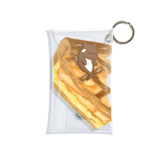 アップルパイにゃち Mini Clear Multipurpose Case