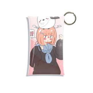 アニメ 女の子 アニマル Mini Clear Multipurpose Case