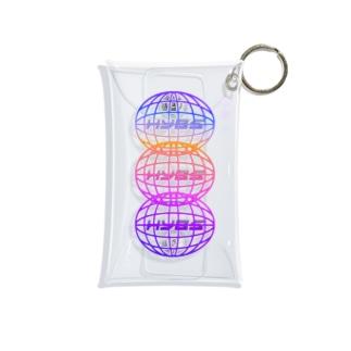 ネットワーク大混乱 (虹) Mini Clear Multipurpose Case