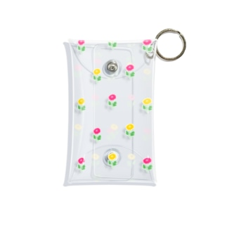 花柄 Mini Clear Multipurpose Case