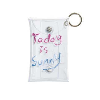 Today is sunny Mini Clear Multipurpose Case