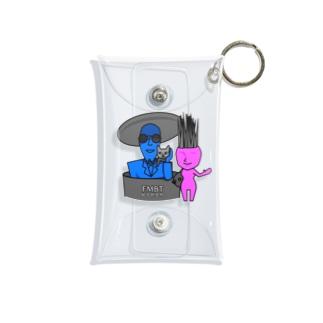 岩男と抱子 Mini Clear Multipurpose Case