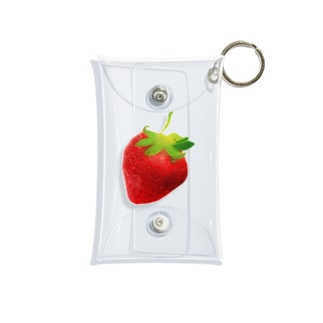 いちご🍓 Mini Clear Multipurpose Case
