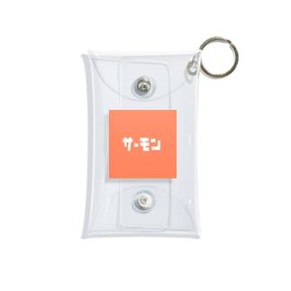 サーモン Mini Clear Multipurpose Case