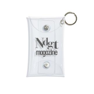 Ndgt mag logo case Mini Clear Multipurpose Case
