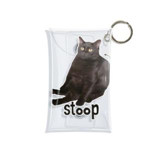 うちの猫。 Mini Clear Multipurpose Case
