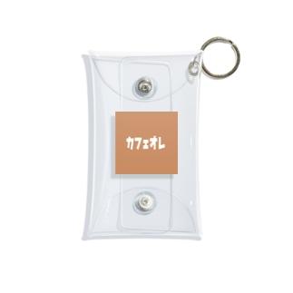 かふぇおれ Mini Clear Multipurpose Case