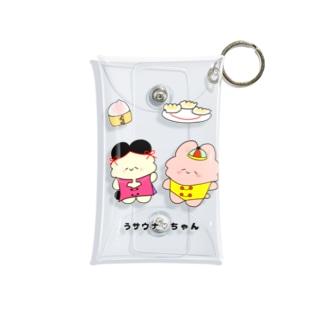 うサウナ♡ちゃん(うサウナチャイナフレンズ) Mini Clear Multipurpose Case