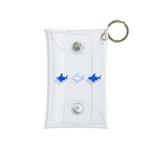 サメ Mini Clear Multipurpose Case