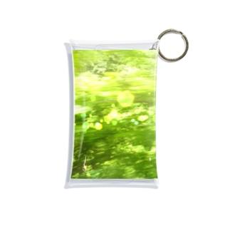 森へ(きらきら) Mini Clear Multipurpose Case