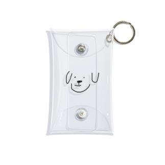 ただの犬 Mini Clear Multipurpose Case