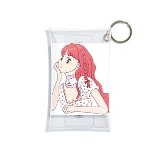 女の子④ Mini Clear Multipurpose Case
