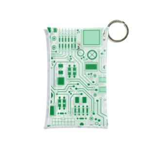 基盤柄 Mini Clear Multipurpose Case